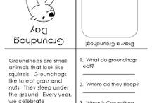 Seasonal worksheets