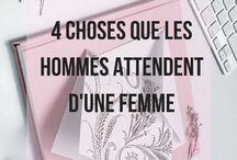 4 Choses que les hommes attendent d'une femme