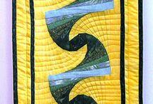 Spiral quilts