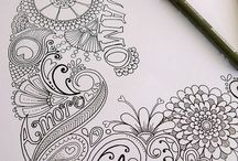 Drawing, doodle / Dd