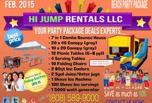 Party Package Deals Experts! / Let us take the Hard Work out of your party planning. We specialize in complete party package deals. We will bring everything you'll need for your party, and take it all away at the end of the day. Eliminating all the hard work and stress that it takes to coordinate, set up and break down, involved in creating a successful event. Give us a call at 808-589-9000. We are your Party Package Deals Experts!