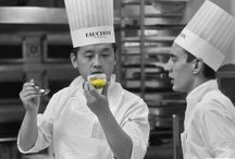 Behind the scene, pastry laboratory
