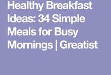 Συνταγές πρωϊνού