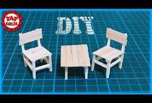 Minik objeler sandalye