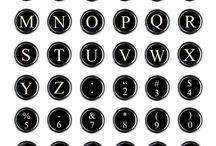 typewriter ideas