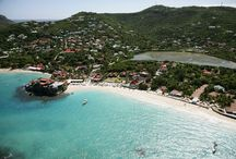 St. Barths Beaches / There are fourteen beaches on St. Barths, all blessed with gleaming white sand. Few are crowded, even in peak season. All are public and free. Nudism is ostensibly prohibited; topless is not unusual. / by St. Barths Online