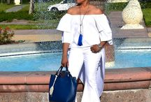 My Love Affair With The 70's! / Off Shoulder Top & Bellbottom Jeans/Free People