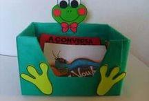 Prace z kartonowych pudełek