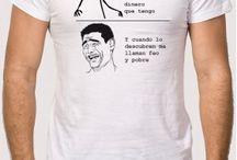 Camisetas Memes / Aquí encontrarás las camisetas de Memes más chulas de internet