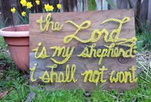 My Crafts without end, blessed by creativeness from my God / by Christine Tchii