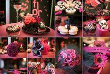 Punk Rock wedding by La Florista / Designed by La Florista