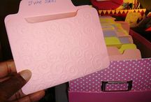 Dies, Clear Stamps and Embossing Folder Storage