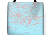 Take away art / T-shirts, bags and other things decorated with art to bring along.