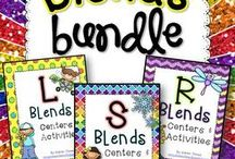 word work: blends & digraphs / Teaching blends!