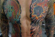 Bodysuit tattoo's
