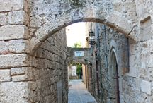 The Medieval City In Rhodes / Visit for a wonderful tour of the amazing Medieval City in Rhodes Greece!