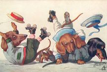 Teckel: kaarten van Arthur Thiele