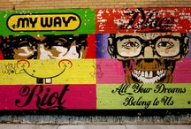 Art Crimes / graffiti  / by Alisa Finkelstein