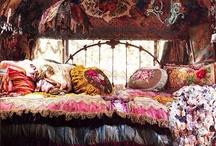 Bedrooms / by Mendocino Beauty