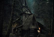 ☽Witching hour☾ / Perfect home and life of a witch.