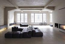 Espacios / Imágenes de espacios interiores y exteriores que me gustaría poder disfrutar o poseer.