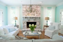 14 Options For The Design Of Your Fireplace Mantel For Spring And Summer