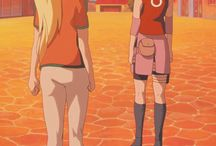 Ino  ,Sakura e Hinata