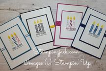 Stampin Up Card Ideas & Inspiration / Stampin Up, Card Making, Stamping, Handmade Cards, Card Inspiration, Paper Crafts, Card Ideas