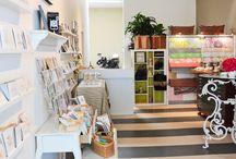 studio design / by Copper Willow Paper Studio
