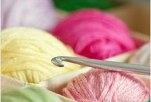 crocheting and knitting / by Pam Jinkens- Poggensee