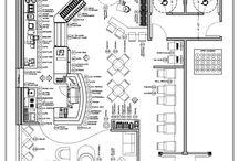 Restaurant / Cafe / Bar Layout Plan