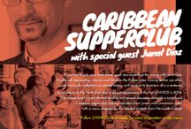 ¡VAMOS! FESTIVAL NE 2016: CARIBBEAN SUPPERCLUB / Below is what you can expect at our unique event: a Caribbean Supperclub with dinner guest, Junot Diaz! From mouthwatering Jerk Chicken Thighs to a delish Caribbean rum cake. Limited tickets available at vamosfestival.com