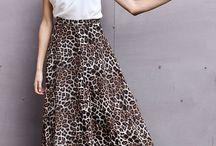 falda con vuelo