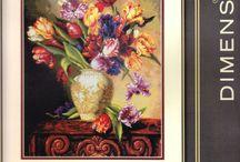Bukiet tulipanów papuzich