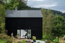 Black exterior & joinery