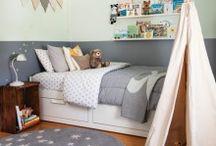 Chambres d'enfants / Découvrez des idées déco pour des chambres d'enfants inspirées et des trucs de rangements pour les garder bien en ordre!