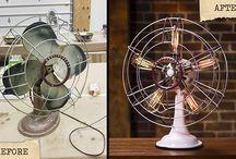 refurbished fan lamp