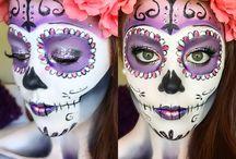 catrinas makeup maquillaje