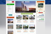 Emlak Tasarımları / Web Tasarımı
