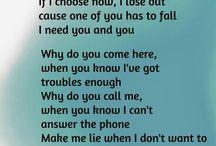 Tekste/lyrics