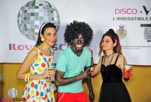 I LOVE DISCO!!! / Serata al Museo del Tessuto di Prato, vestiti vintage.