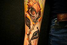 Tattoos / My custom tattoo work