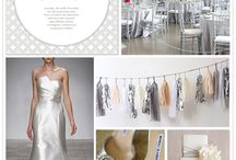 Wedding Khoncepts - White and Silver  / White, and silver very elegant yet chic