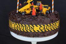 Digger Birthday Party//