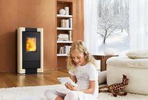 Pelletkachels / Pelletkachels branden op kleine geperste korrels van hout. Met een efficiëntie van ruim 90 % is het de meest zuinige manier van verwarmen.