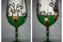Wine Glass Designs / by Kelly McCracken