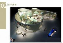 The world of exhibitions / Nice stand design, parts and elements for the exhibition area