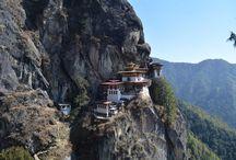 Tiger's Nest - Paro Taktsang - Taktsang Monastry, Bhutan / http://krishnandusarkar.com/hike-to-tigers-nest-paro-taktsang/