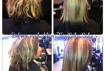 Trissola  / All Colorific Hair Color Salon locations offer the Trissola True and Trissola Solo Hair Taming Systems. Trissola frees your hair from frizz, leaving your hair smooth, shiny and beautiful.