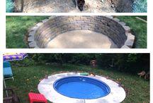 piscină de gradina